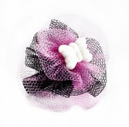 Pink Tulle Butterfly Ring