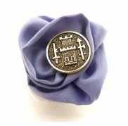 Purple Taffeta Royal Ring