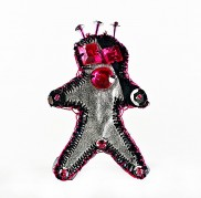Alien Cookie With Pink Rhinestones