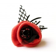 Savage Poppy Ring