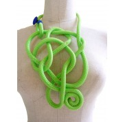 Citron Green Polymorphic Necklace