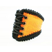 Orange Corset Wristband