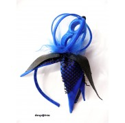 Royal Blue Crown Headpiece