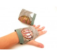 Green Steampunk Gloves