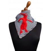 Red Penguin Scarf