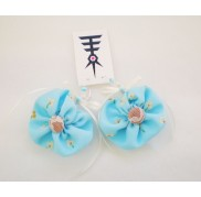 FLORAL - AZURE EARRINGS