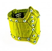 Citron Yellow Sequin Top Wristband