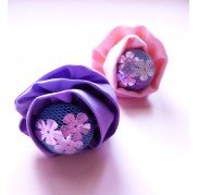 Sequin Blossom Rings