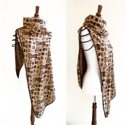 Mocca Cape Scarf