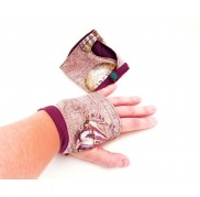 Purple Steampunk Gloves
