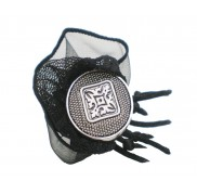 Black Organza Thorn Ring