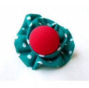 Green Polka Dot Ring